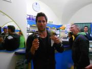 Gargano Vieste Olasz ország 2013 május Kitesurf Camp