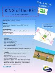 KING of the RÉT 2016. aprilis 16. SZOMBAT